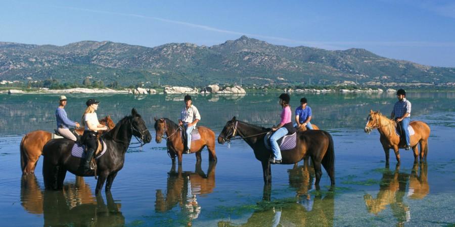 Escursione a cavallo in Laguna