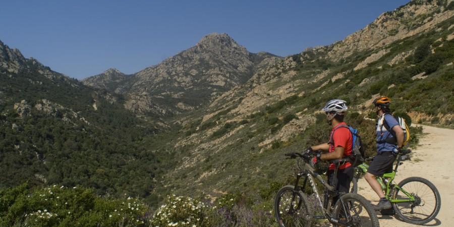 Escursione in bici sul Monte Nieddu